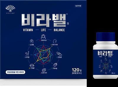 하루 한 알 건강 밸런스, 동화약품 비타민 '비라밸'