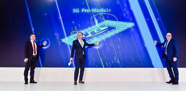 """화웨이, 파트너사들과 산업용 5G 모듈 개발... """"5G 생태계 구축 탄력"""""""