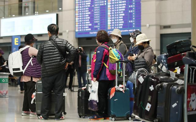 多国禁止来自韩国的人员入境或加强入境管理