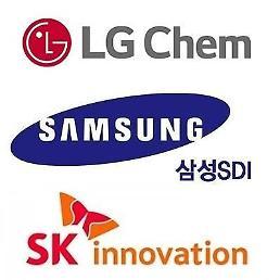 韓国バッテリー3社、グローバル市場占有率15%…LG化学は全体3位