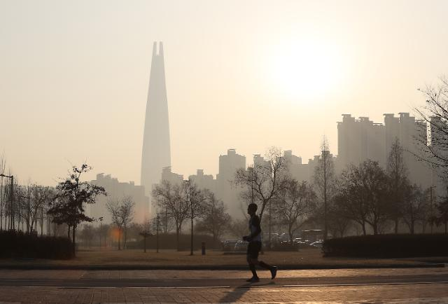 심해지는 초미세먼지···OECD 오염 도시 중 한국 절반 이상