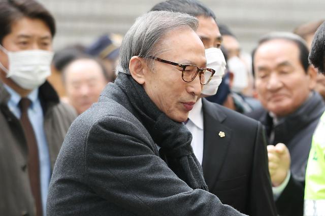 징역 17년 MB, 재구속 6일 만에 석방… 보석취소 결정 때까지