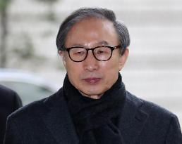 .Ex-president Lee Myung-bak released on bail again.