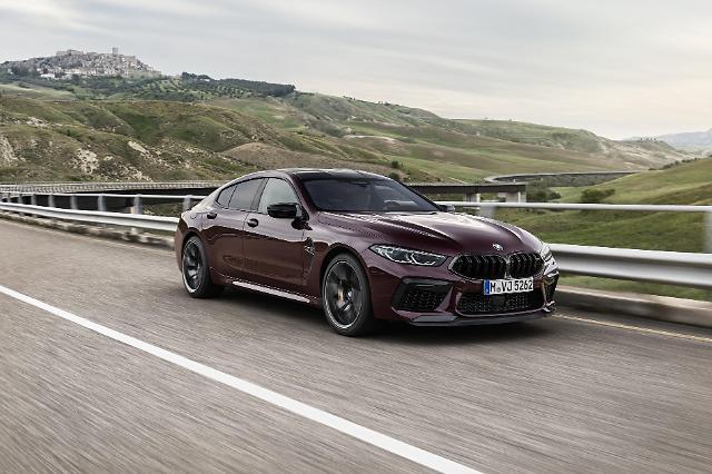 뉴 M8 그란쿠페 컴페티션 사전계약... 최고시속 305㎞ BMW 양산 모델 중 가장 빨라