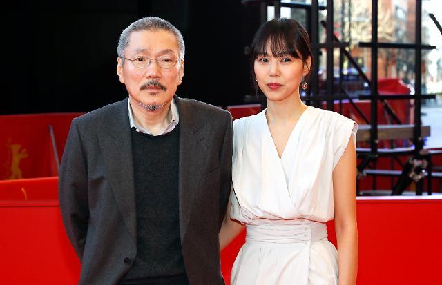 홍상수 김민희, 도망친 여자로 베를린영화제 참석…애정전선 여전