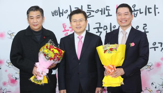 통합당, 최승재 소상공인연합 회장·백대용 소비자시민모임 회장 영입