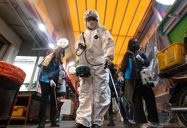 Hàn quốc có thêm 115 ca nhiễm COVID-19 mới... Tổng số 1261 ca nhiễm