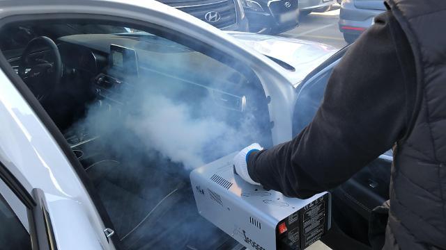 리본카, 편백나무 피톤치드 연무서비스' 무상제공... 출고되는 모든 차량