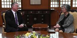 .韩外长吁美方克制有可能限制双边交流的措施.