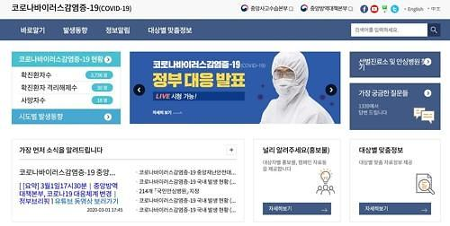韩国新冠疫情信息发布改为每日一次以零时为准