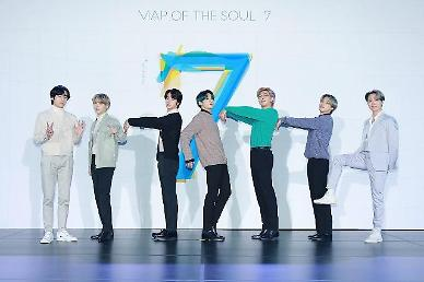 BTS tops Billboards top 200 popular albums chart with MAP OF THE SOUL : 7