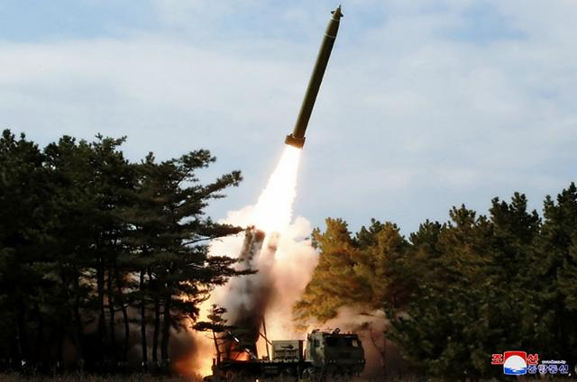 N. Koreas latest drill shows apparent technological progress in multiple launch rocket system
