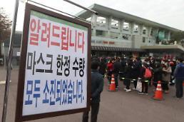 .韩政府计划向弱势群体免费发放1.3亿只口罩.