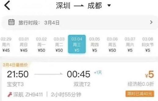 中国推出5块钱机票…廉价航空面临危机