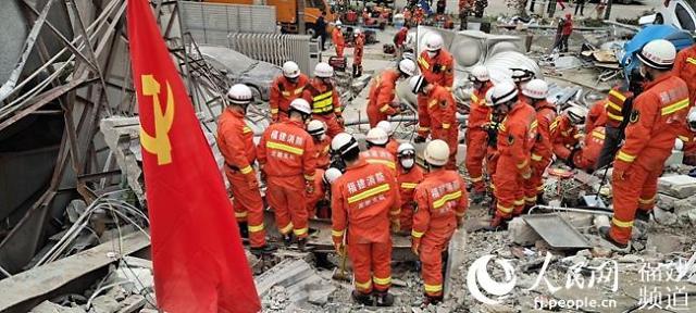 [코로나19]중국 격리시설 붕괴...2명 중태