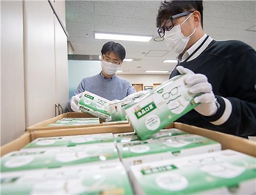 威海市向龙山区捐赠1.5万只口罩