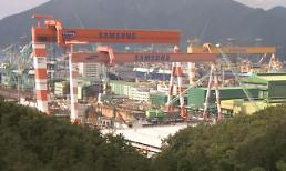 .韩2月造船厂订单量全球占比67%位居第一.
