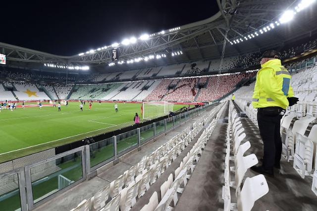 챔스 무관중·리그 중단···코로나19가 휩쓴 유럽 축구