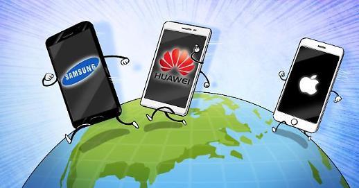 三星2019年南美手机市场份额位列第一