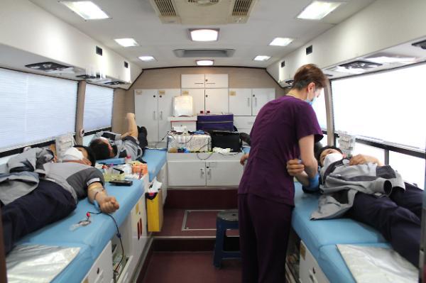 기아차 화성공장 임직원, 릴레이 헌혈캠페인 동참