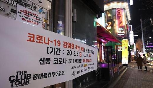 弘大夜店暂停营业时间将延长至19日