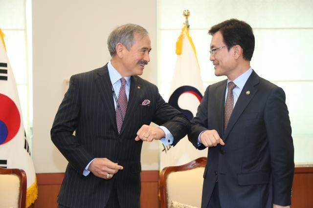 [코로나19] 조세영 외교차관, 美 비건 통화…'G20 특별 화상 정상회의' 협조 당부