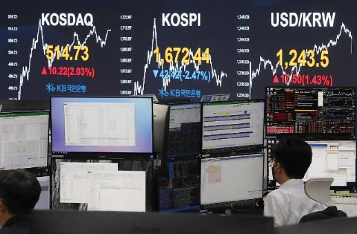 韩KOSPI指数创8年多来新低
