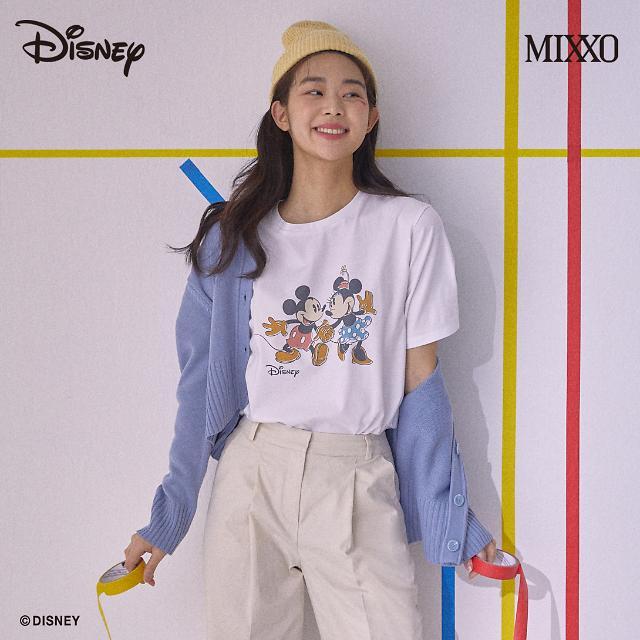 이랜드월드 미쏘, 미키마우스 컬래버레이션 티셔츠 출시