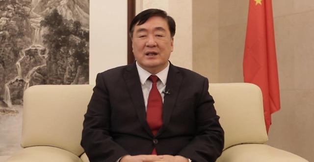 """[2020 아태금융포럼]싱하이밍 中대사 """"중·한, 아태지역 경제 발전 함께 이끌어야"""""""