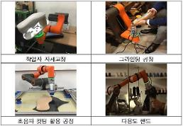 .​Seoul deploys cooperative robots to help shoemakers.