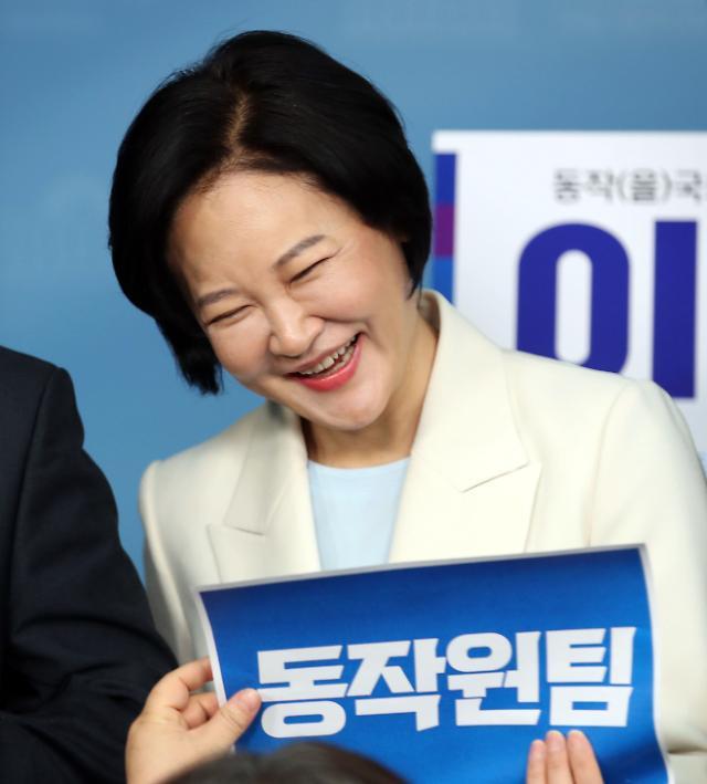 """[총선 르포] ②민주 이수진 """"법원서 못한 사법 개혁 완수할 것"""""""