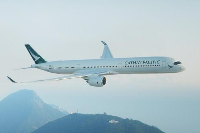 [NNA] 홍콩 캐세이퍼시픽항공그룹, 5월 말까지 여객편 96% 감편