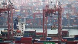 .韩3月前20天出口同比增加10% 日均减少0.4%.