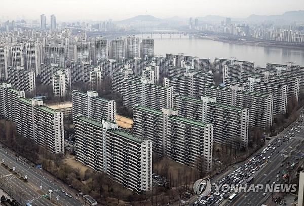 """KB부동산 리브온 """"12·16대책 후 서울 9억원 초과 아파트 거래 61%↓"""""""
