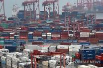 3月1~20日の輸出、前年同期10%↑ 1日平均は0.4%↓