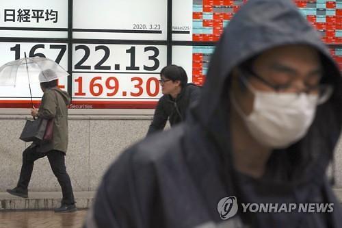 일본증시 닛케이 장초반 5% 가까운 폭등세