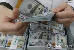 ウォン・ドル為替レート、7取引日ぶりに「1220ウォン」台へ