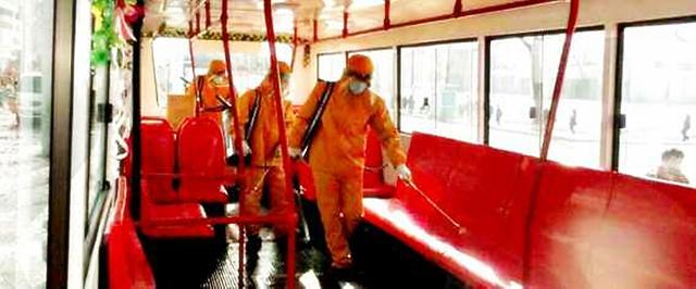 朝鲜下达抗疫指令:不戴口罩禁止乘车 公共场所做好消毒防疫