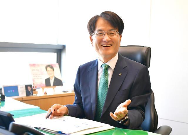손병환 농협은행장 취임…디지털 휴먼뱅크로 도약하겠다