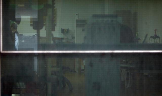 [포토] 제이미주병원 52명 무더기 확진…적막한 병원 내부