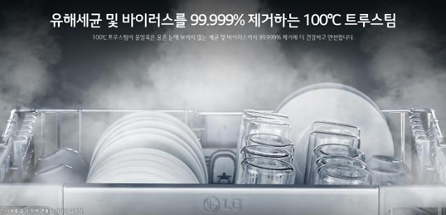 LG전자, 올 식기세척기 트렌드는 대용량·스팀