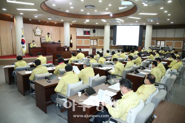 고양시의회, 임시회 열어  위기극복지원금 관련 안건 처리