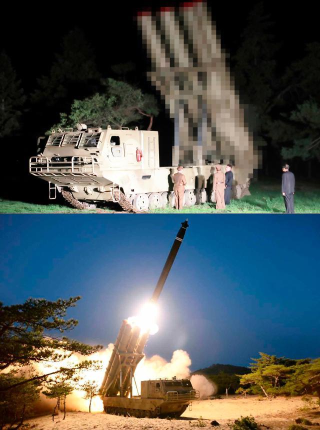 韩联参:朝鲜昨射飞行器与大口径可控炮相似