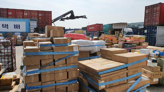 疫情下仁川港自华进口口罩增35倍