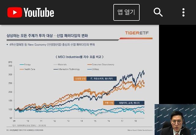 유튜브로 개미 잡아라…증권업계 언택트 열풍