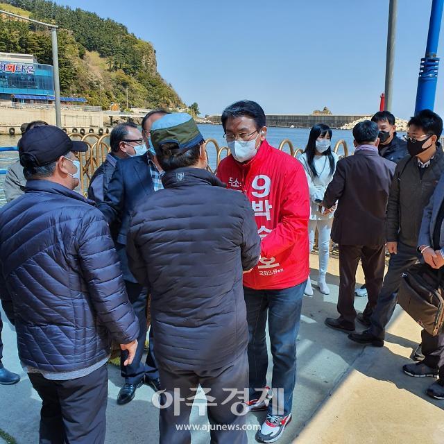 """박승호 후보, """"울릉도와 독도, 영토주권 차원에서 대규모 투자"""" 강조"""