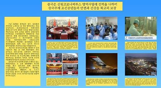 中国驻朝鲜大使馆举办抗疫图片展