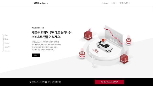 기아차 車데이터 개방…커넥티트카 서비스 가속화