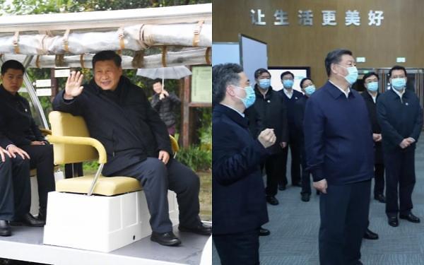 시진핑의 마스크 정치…풀고 죄는 게 능력