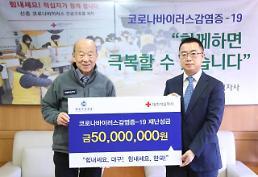 .韩国中国商会积极支援韩国战疫.